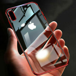 360° Full Body Shockproof Case + Tempered Glass Cover For iPhone X  XS Max XR