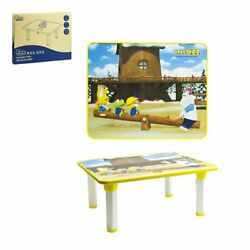 Pororo Kids Activity Table with Folding Legs (Brown)