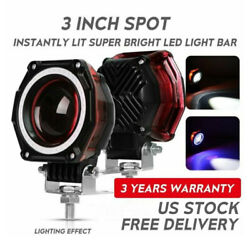 Pair 9006 HB4 LED Headlight Conversion Kit Globes Bulb High Beam 6000K White