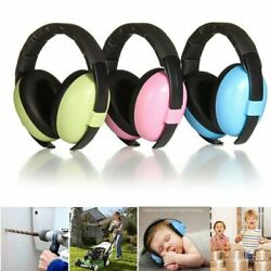 Kids Muffs Noise Cancelling Headphones Child Baby Hearing Ear Protection Headset $7.59