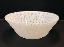 Vintage Mid Century Modern Glass Torchiere Lamp Shade Retro Diamond Pattern $32.99