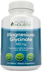 Magnesium Glycinate Chelated 400mg 270 Tablets Vegan Sleep Stress Relief $22.97
