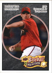 2008 Upper Deck Heroes Black BB Cards 1-200 (A4853) - You Pick -