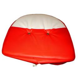 21quot; Cushion Seat Cover Red amp; White for Fits IH FARMALL Universal Mower amp; Farm Tr $28.19