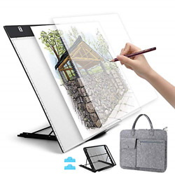 A3 LED Light Pad Dimmable LED Tracing Light Box with Carry Bag USB Cable NEW US