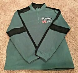 **NICE** NASCAR Dale Earnhardt Jr. (88) AMP ENERGY 14 fleece pullover--LARGE