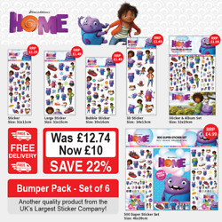 Home Stickers Bumper Pack GBP 10.00