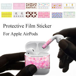 Decal Scratch Proof Films Protective Cover Skin Vinyl Sticker For Apple AirPods