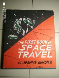 The First Book of SPACE Travel by Jeanne Bendick  Vintage