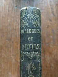 Dialogues of Devils by Rev. MacGowan - ca. 1850 Occult Spiritual Morality