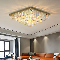 Modern LED Ceiling Lamps For Living Room Ceiling Lighting Fixtures Crystal