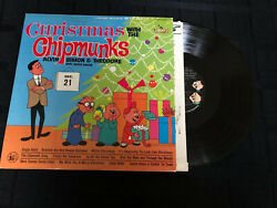 CHRISTMAS With The CHIPMUNKS LP NM VINYL EX COVER Liberty Record TESTED