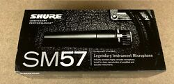 Shure SM57-LC Dynamic Cardioid Instrument Professional Microphone $76.99