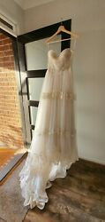 Wedding Dress Boho chick romantic bohemian unique from designer  Gown  Prom