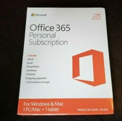 BRAND NEW Microsoft Office 365 Personal PC or Mac