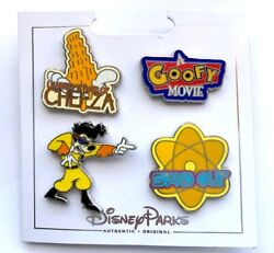 DISNEY PARKS A GOOFY MOVIE 4 PIN BOOSTER SET NEW $19.99
