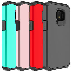 For Samsung Galaxy J2 PureCoreShine Case Shockproof Hybrid Armor Rubber Cover