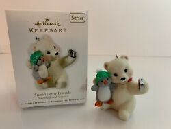 Hallmark Snap Happy Friends Selfie Ornament 2011 Snowball And Tuxedo #11