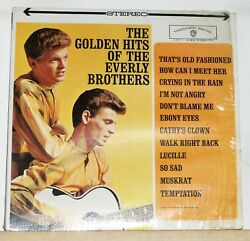 The Everly Brothers - The Golden Hits Of - Reissue LP Record Album Cathy's Clown $12.97