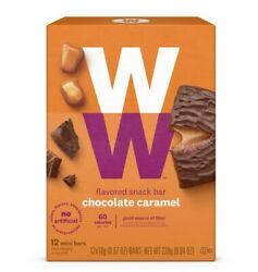 WW 3x Chocolate Caramel Mini Bar Best By: Oct 2020 and More
