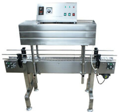 GP-403 Bottle Label Automatic Shrink Packaging Sealing Machine 110V PVC PP POF