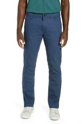 Bonobos Tech 5-Pocket Pants 3X Dry  Slim Fit Size 32X34 Blue Pine