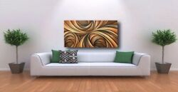 Modern Art Contemporary Decor Mix Lang cert. original Abstract Painting $389.00