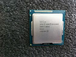 Intel Xeon E3-1230V2 3.30GHz Quad-Core CPU Processor SR0P4 LGA1155 - CPU348