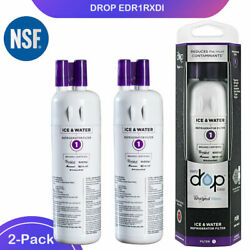 2Pack Whirl²-pool refrigerator Water Filter#1 EDR1² RXD1² Drop1 fit W²-10295370