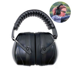 Foldable Ear Muffs Noise Reduction 34dB Hearing Protection Gun Shooting Range RD $11.99
