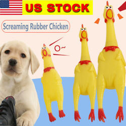 Large Fun Pet Dogs Shrilling Rubber Chicken Chew Sound Squeeze Toys Gifts US $5.07