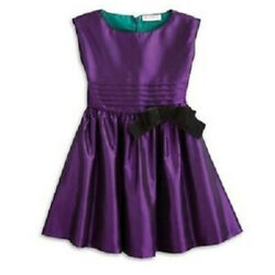 American Girl Purple Party Dress Retired Taffeta Girls Size 10 $20.95
