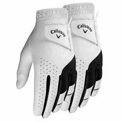 NEW Callaway 2 Pack Weather Spann Men#x27;s Golf Gloves PICK SIZE FREE SHIPPING $19.89