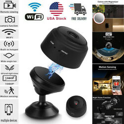 Mini Hidden Spy Camera Wireless Wifi IP Home Security DVR Night Vision HD 1080P $25.98