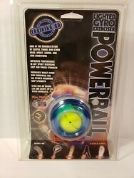Dynaflex Lighted Gyro Therapeutic Exerciser Powerball BLUE $21.88