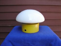 Vintage Mid Century Modern LIGHTOLIER Mushroom Table Lamp