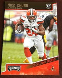 Nick Chubb Cleveland Browns  choose your card Rookies RC and more $1.50