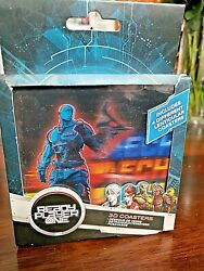 Ready Player One 3D Lenticular Cup Drink Coasters by Paladone Set of 4 NEW $19.99