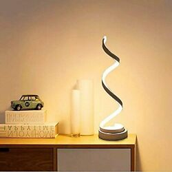 Xiyun Spiral Table Light Curved Lamp Desk 13W Multi Stage Dimming Bedroom $61.74