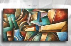 Lang ART abstract Giclee canvas print MODERN PAINTING Contemporary DECOR $239.00