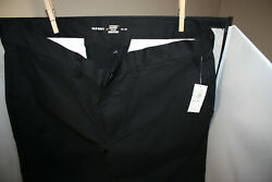 Old Navy Built in Flex Ultimate Straight NWT Black 34 X 36 Pants Khakis $20.00