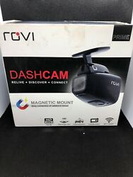 Rovi Full HD Dashcam Magnetic Mounting 1080P 150° Viewing Impact Detection WiFI $96.50