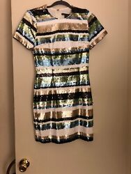 NWT Designer BLACK HALO DRESS size 2