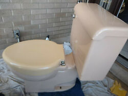 Vintage Crane Criterion Toilet - Vintage 1956- Blush includes molded seat