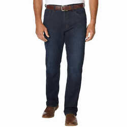 Urban Star Men#x27;s Relaxed Fit Jeans DARK BLUE Select Size * FAST SHIPPING * $22.95