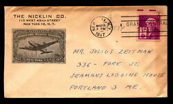 1947 Nicklin Co Cacheted Commercial Cover L5316