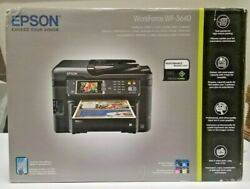 Brand New Sealed Box Epson WorkForce WF-3640 All-in-One Printer we Ship Fast!! $249.99