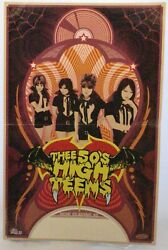 The 50#x27;s High Teens Poster Tokyo No Records 2008 GBP 32.50