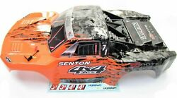 Arrma SENTON 4x4 3s BLX - Body Shell (Orange/Black painted decaled AR102668 $39.99