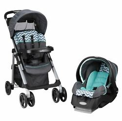Baby Infant Toddler Stroller With Car Seat Boy Girl Folding Travel System New $199.95